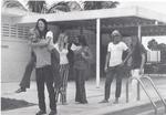 Marymount Students at Pool
