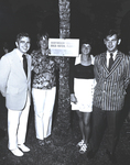 Donald Ross and Richard Hanley with Students at Virginia Slims Social Hour by Marymount College
