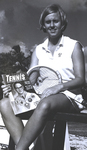 Marymount Tennis Coach Astrid Suurbeek by Marymount College