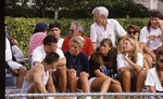 Students at a Soccer Match by Brad Broome